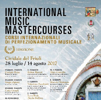 BROCHURE INTERNATIONAL MUSIC MASTERCOURSES